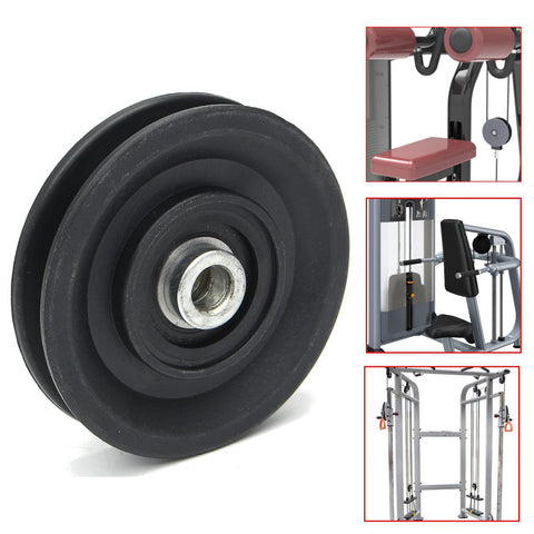 High Quality Bearing Pulley 90mm Wearproof Nylon Bearing Pulley Wheel