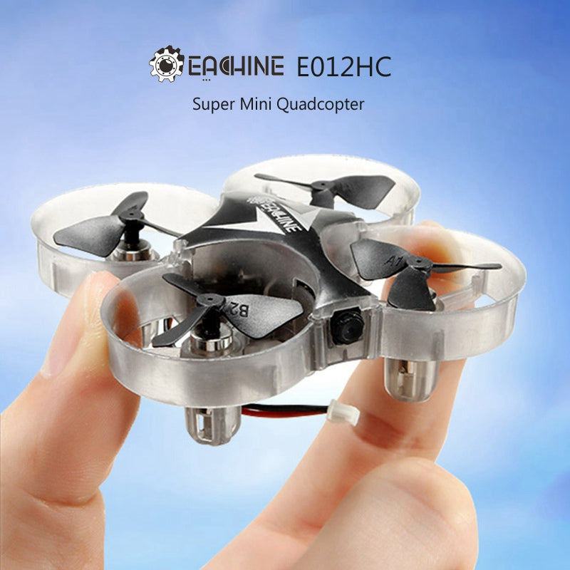 2018 Eachine E012HC Mini 2MP 720P HD Camera With Altitude Hold Mode RC Quadcopter Drones Helicopter Toy RTF VS JJRC H36 CX-10WD