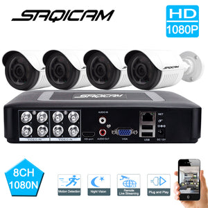 DVR Security Camera System 4PCS  CCTV Cameras Day/Night Vision