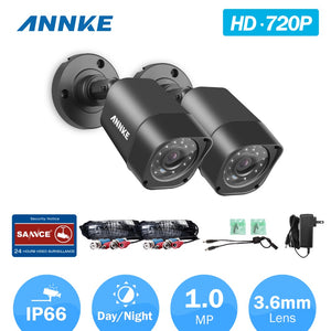 CCTV Security Cameras 2PCS waterproof IR outdoor