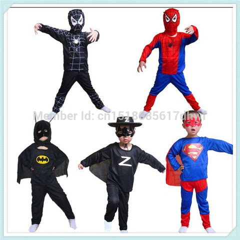Red black spiderman costume batman superman spider-man costumes superhero spider man