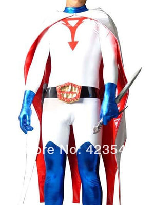 Science Ninja Team Gatchaman Ken Superhero Costume Party Halloween carnival costumes.