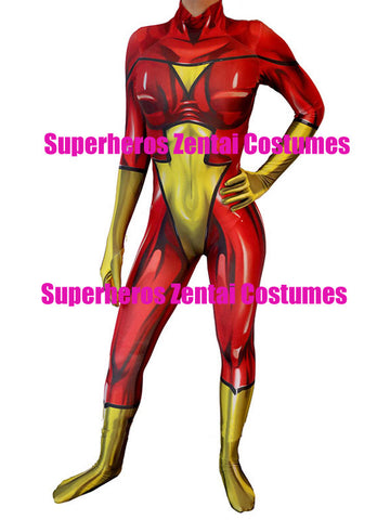 3D Print Custom Spider-Woman Spider Woman Superhero  Bodysuit