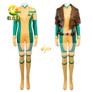 X-men Lady Rogue Superhero Costume Girl/Women