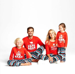 Christmas Family Matching Casual Pajamas