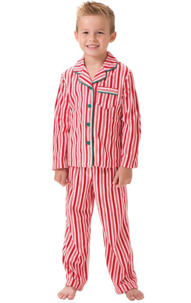 2017 New Year Family Christmas Pajamas Striped Family Matching Outfit Clothing Sets Adult Kids Baby Clothes