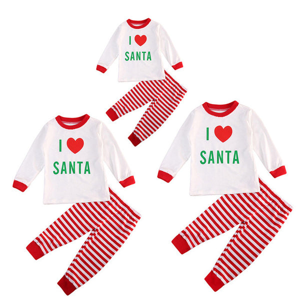2018 Xmas Family Matching PJS Clothing Christmas Pajamas Sets