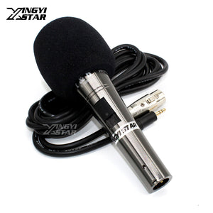Wied Handheld Condenser Microphone Studio Mic Mike For Computer PC Broadcast Video Recording Microfone Condensador