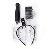 1pcs 1.0-3.5X Bracket Headband Eye Magnification Goggles Magnifying Glasses With 2 LED Light