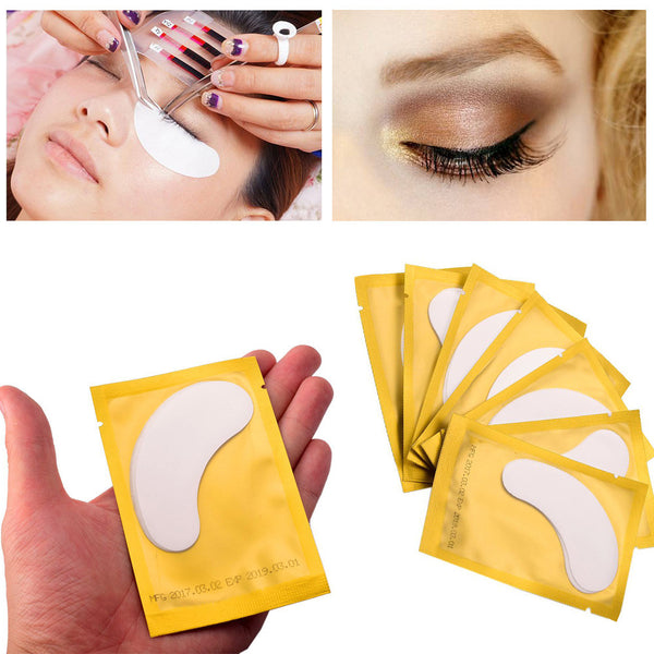 10 PCS Eye Pad Eyelash Pad Gel Patch Lint Lash Extension Eye Mask