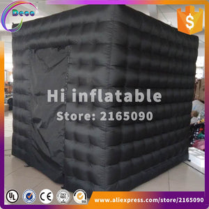 led inflatable photo booth cube photo booth kiosk portable photo booth for party