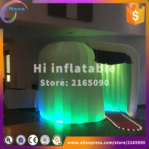 portable inflatable photo booth enclosure led wedding