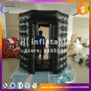 enclosure/inflatable led photo booth for wedding