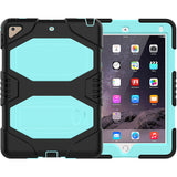 Full Body Protect iPad Scratch-proof Protection Shell Built-in Kickstand iPad Case for iPad 9.7 inch