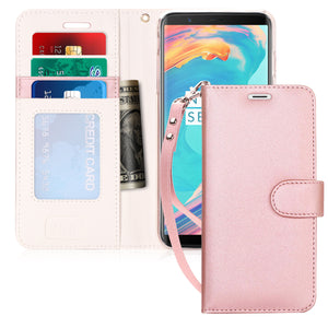 Note 8 Case, Galaxy Note 8 Case, Handmade Flip Folio With ID and Credit Card Protector for Galaxy Note 8