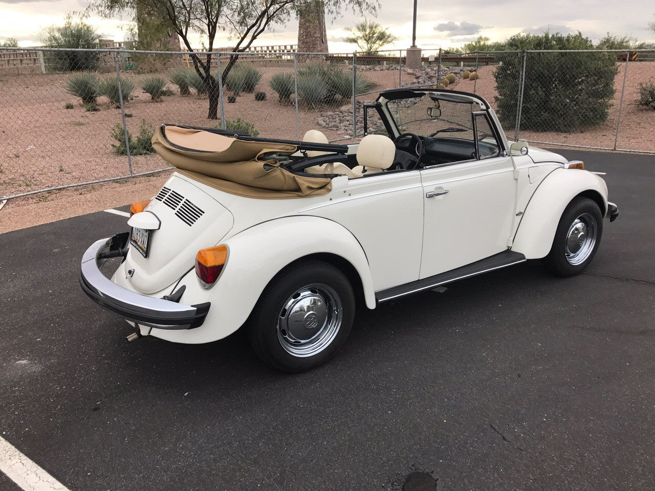 Sold VW Bug Convertible