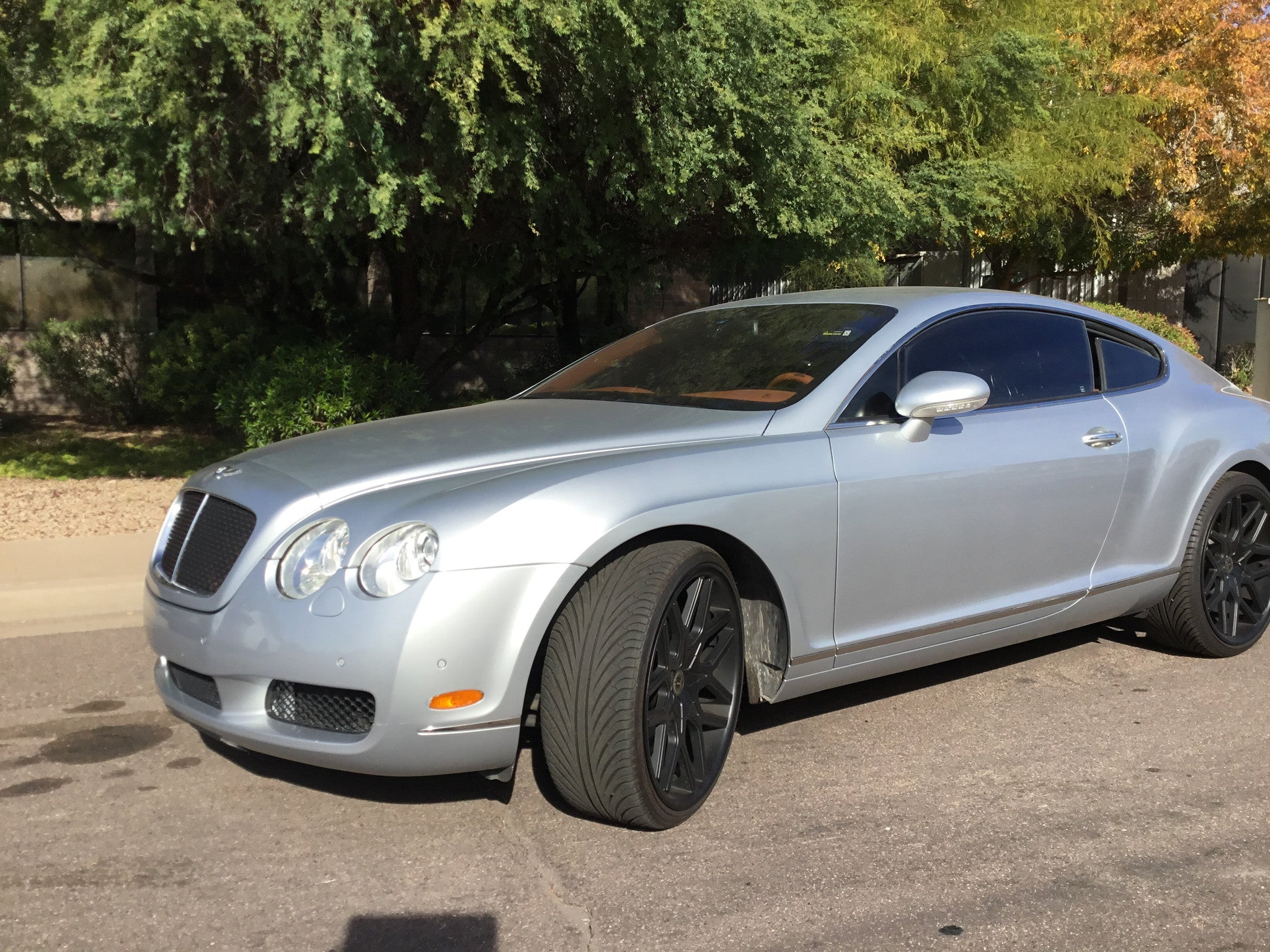 Sold 2004 Bentley Continental