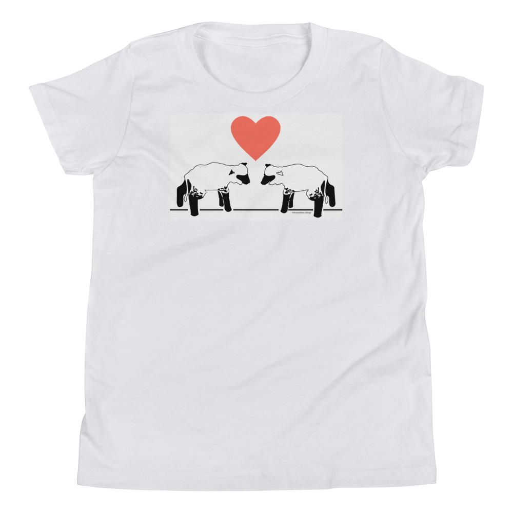 Lambs and Heart Youth Short Sleeve Tee