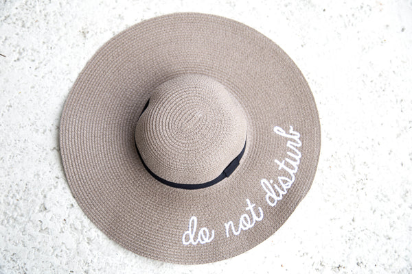 Do Not Disturb Hat - Brown