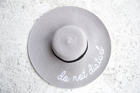 Do Not Disturb Hat - Grey