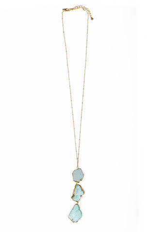Lagoon Long Necklace