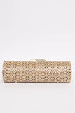 Lily Gold Gem Clutch