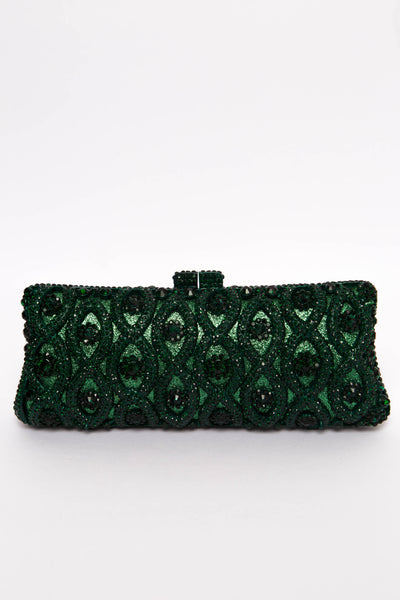 Drew Emerald Gem Clutch