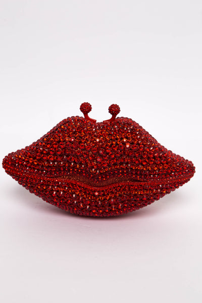 Red Lips Gem Clutch