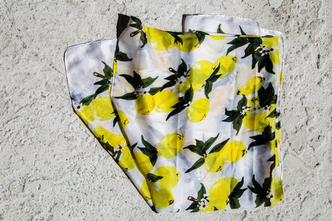 Italian Summer Lemon Scarf