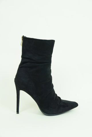 Jolie Heel Booties - Black