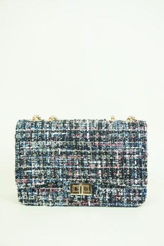 Gabrielle Tweed Shoulder Bag
