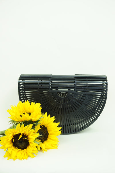Lilo Basket Bag - Black