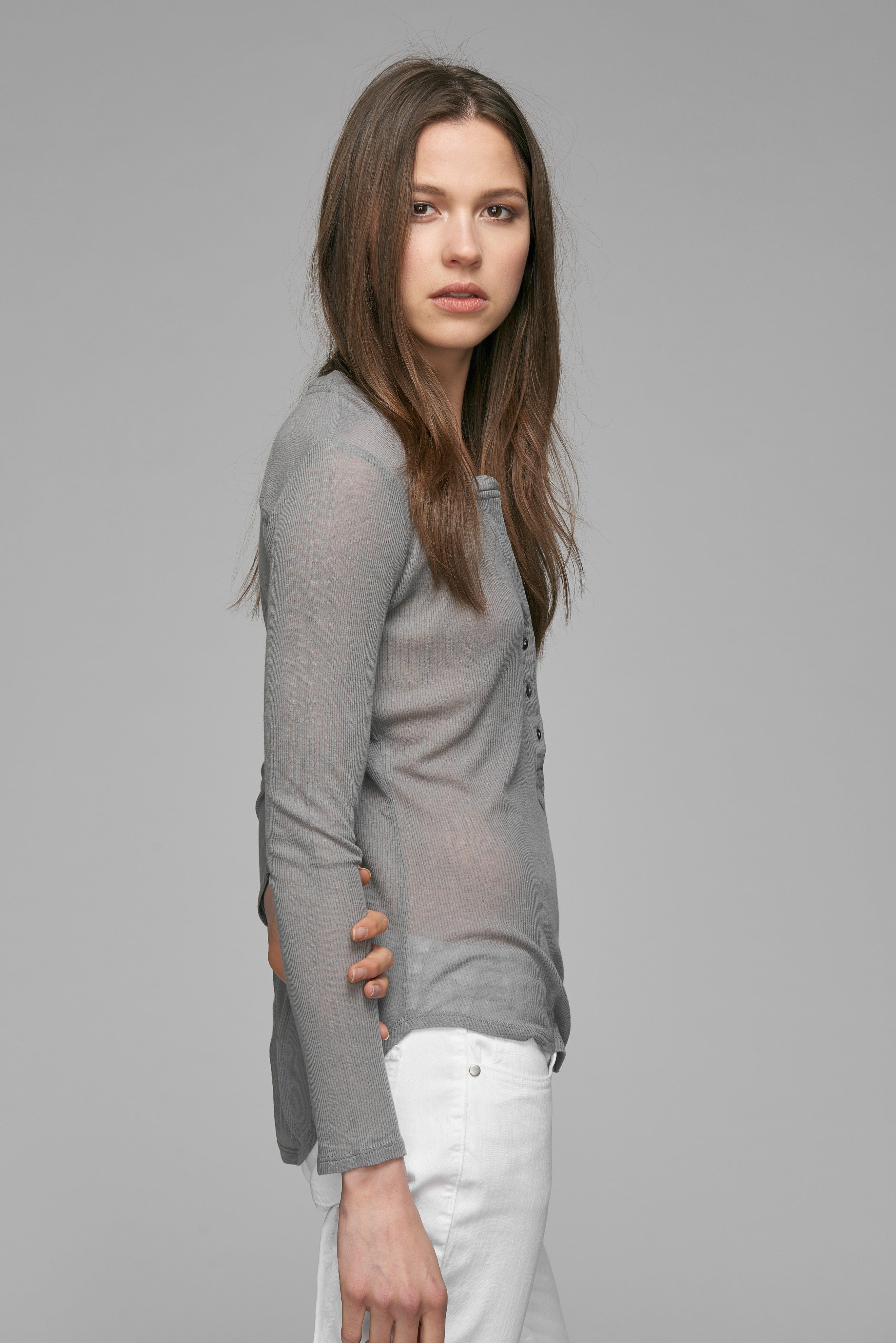 Madison Cashmere Blend Henley
