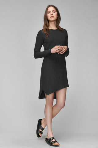 Nikki Soft Touch Asymmetric Dress