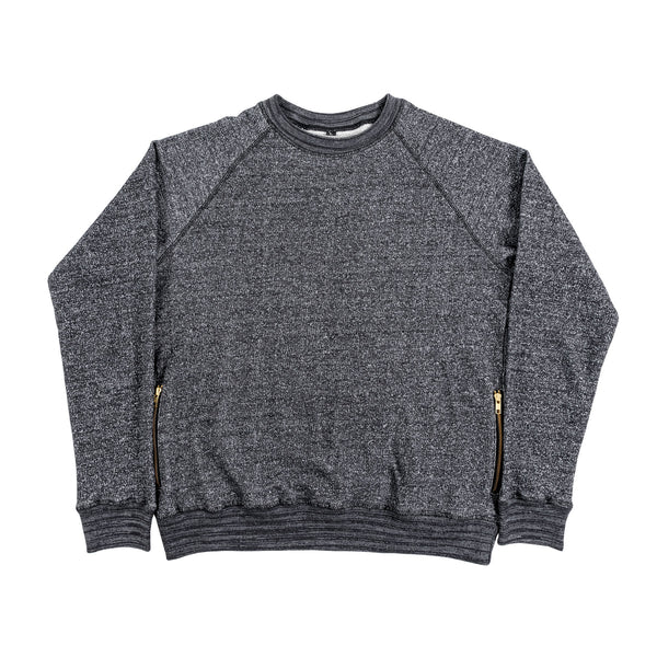 Heathered Crewneck Sweater
