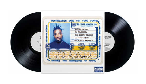 Ol' Dirty Bastard -  RETURN TO THE 36 CHAMBERS : THE DIRTY VERSION (2XLP)