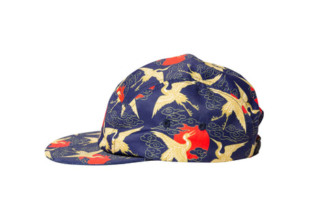 Flying Crane Five Panel Hat