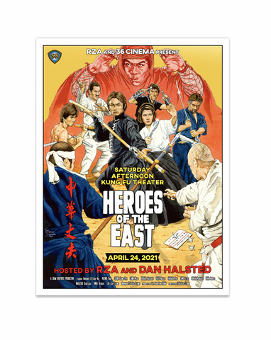 36 Cinema: Heroes of the East Poster