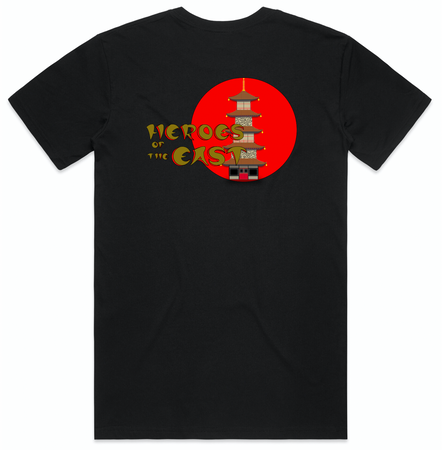 Heroes of the East Graphic Tee