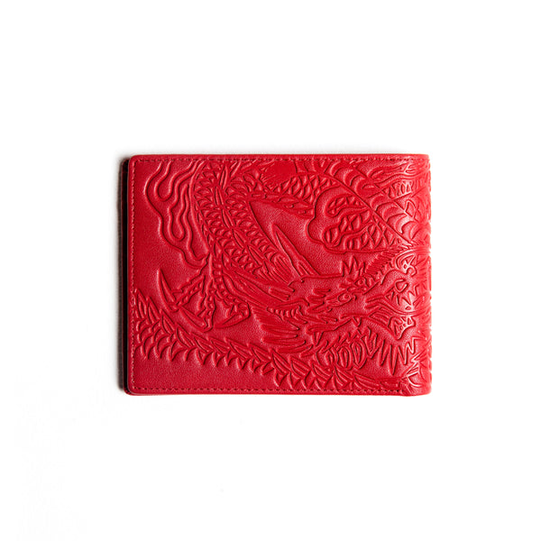 Tiger VS Dragon Wallet (Red)