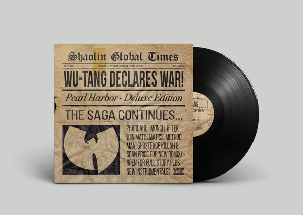 Pearl Harbor Vinyl from Wu-Tang