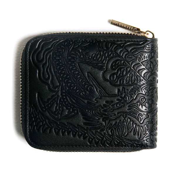 Tiger VS Dragon Zipper Wallet