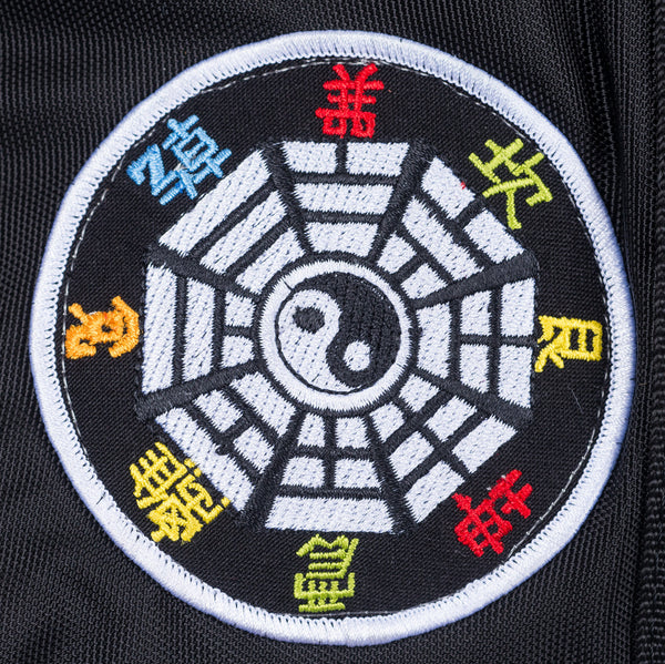 Kung Fu Patch Duffel Bag