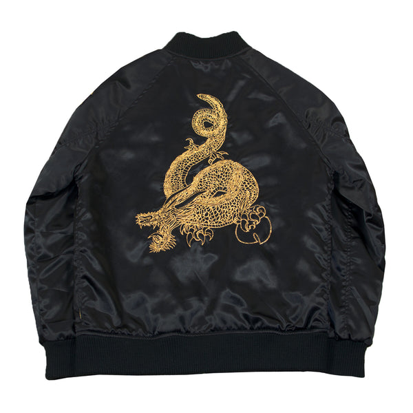 Womens Satin Souvenir Jacket