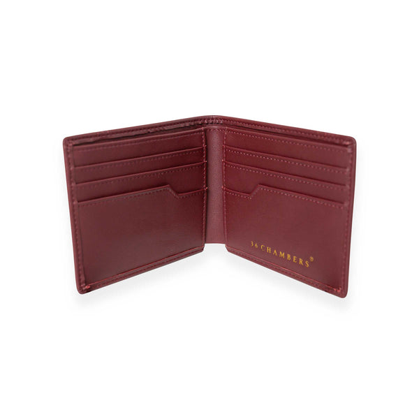 Tiger VS Snake Bifold - Burgundy