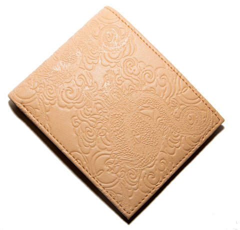 Cream Debossed Veather™ Wallet