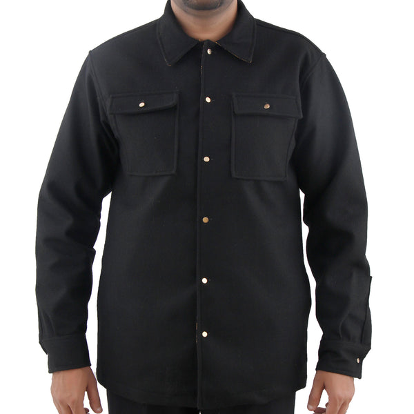 Waterproof Wool Overshirt