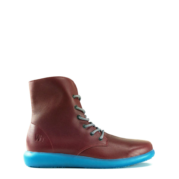 LARRIES - Burgundy | Aqua Blue