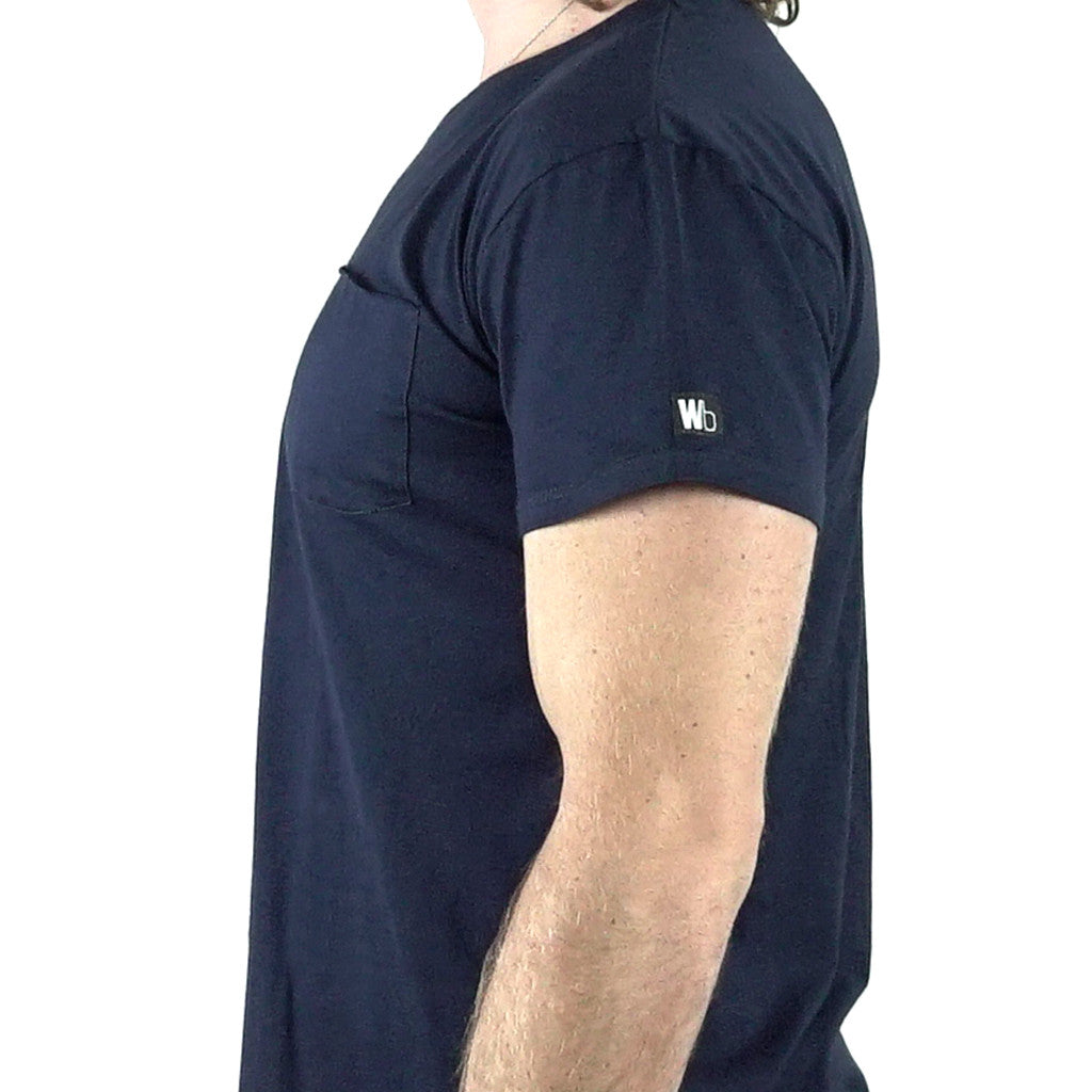 Egyptian Cotton Shirt - Navy