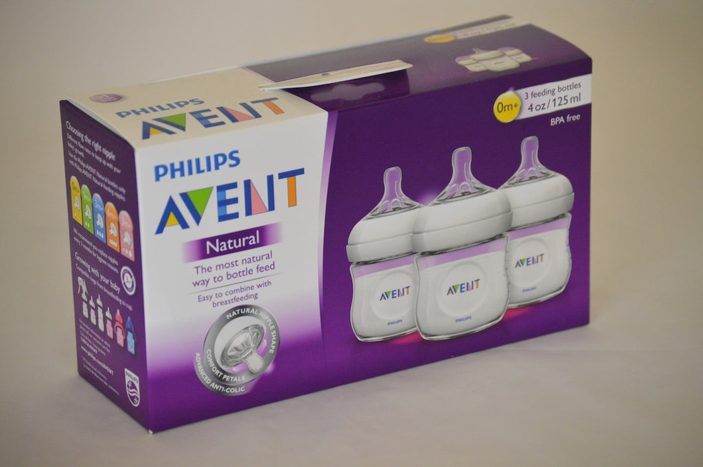 aLoo Bottle Set - with Philips Avent Natural Bottles (4oz 3 pack)
